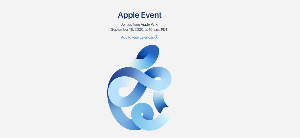 Apple Event Set to Be Held on September 15, 2020 – New Product Launches and Software Updates