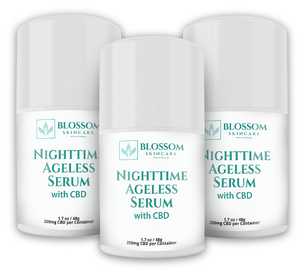Blossom Nighttime Ageless Serum with CBD Reviews 2020- An Anti-Aging Regimen with CBD