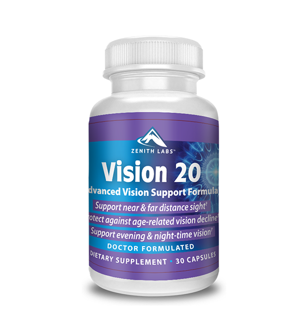 Vision 20 (Zenith Labs) Reviews 2020 – A Way to 20/20 sight?